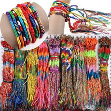 infinitesymbolswovenbracelet, hotsalehandwovenbracelet, rainbow, woven