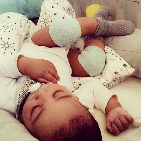 Baby Cotton Crawling Kneepads Anti Slip Leg Warmers Silicone Baby Socks