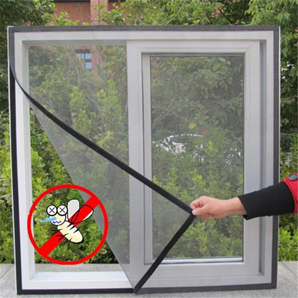 Insect Fly Screen Curtain Mesh Bug Mosquito Netting Door Window Protector