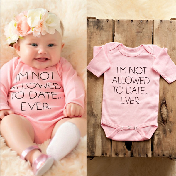 Infant Baby Girls Long Sleeves Romper Bodysuit Outfits Jumpsuit Playsuit Clothes