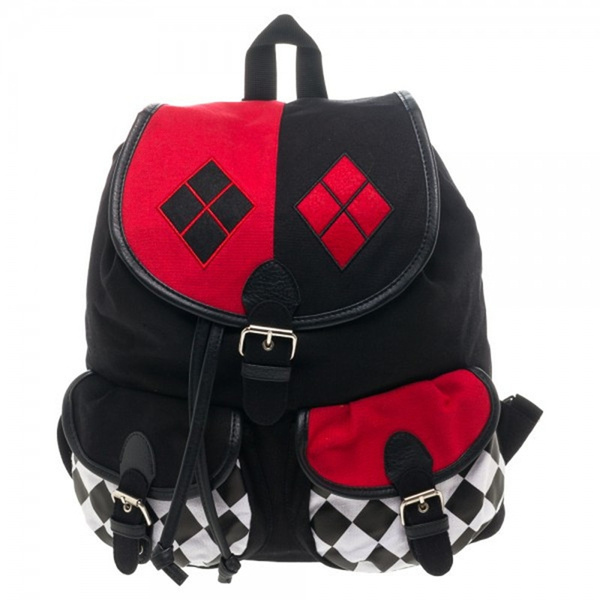 Suicide Squad Harley Quinn Slouch Backpack by Wish