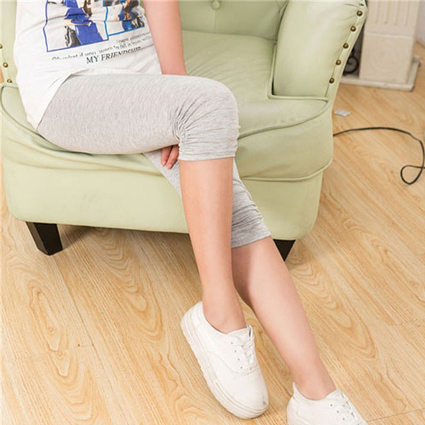 Summer Fashion Stretch Modal Cotton Leggings Women's Stretch Skinny Cropped Leggings Sexy Slim Pencil Shorts Pants