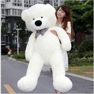 39/'/' Huge Cute Teddy White Plush Teddy Bear