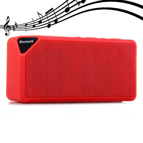 Picture of Mini Bluetooth Speaker Tf Usb Wireless Portable Music Sound Box Subwoofer Loudspeakers With Mic