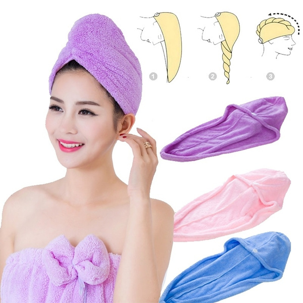 bathaccessorie, householdessential, Home textile, dryhairtowel