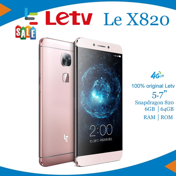 Original Letv LeEco Le Max 2 X820 4G LTE Mobile Phone Snapdragon 820 Quad  Core 5 7 inch 2560x1440 6GB RAM 64GB ROM 21 0MP Back + 8 0MP Front Camera