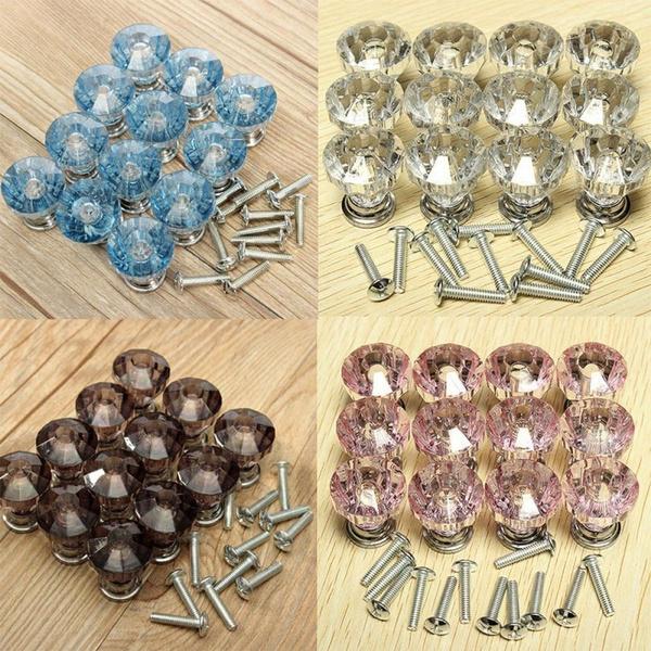 knobs, drawerknob, glassknob, Home & Living