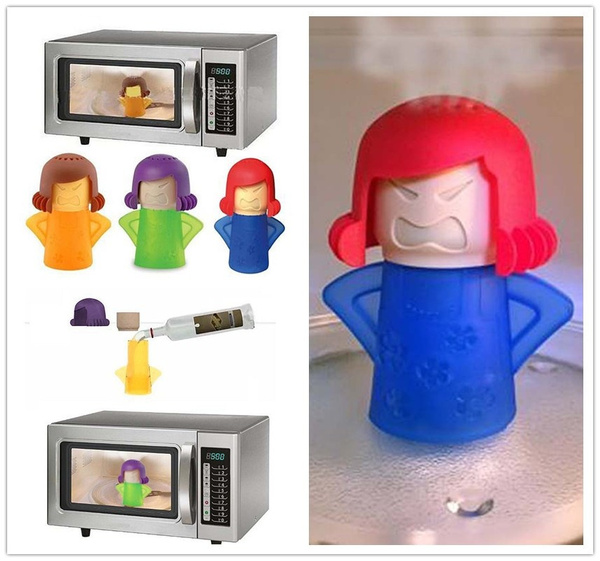 New Metro Angry Mama Microwave Cleaner Steam Cleaners