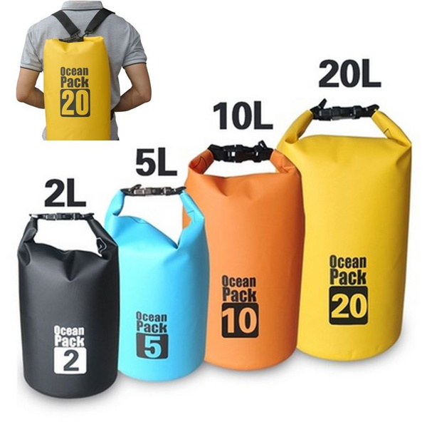 Premium Lightweight Dry Sack/Dry Bags -Fits Perfectly in Your Backpack