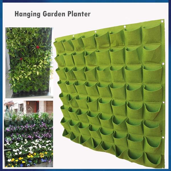 Diy Multi Choices Vertical Garden Hanging Planter Indoor Or Outdoor Wall Decor