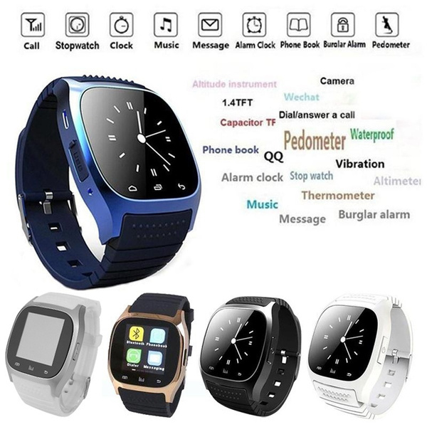 Picture of Bluetooth Digital Smart Watch Phone Mate For Smartphone