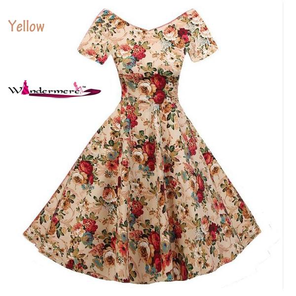c64538405537 Windermere Audrey Hepburn Robe Retro Rockabilly Dress 2016 Jurken ...