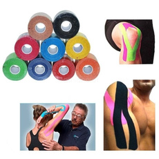 1 Roll Kinesiology Muscle Tape Sports Athletic Elastic Physio Therapeutic 2.5cmX5m