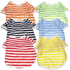 Cotton, Fashion, stripespatterntop, Shirt