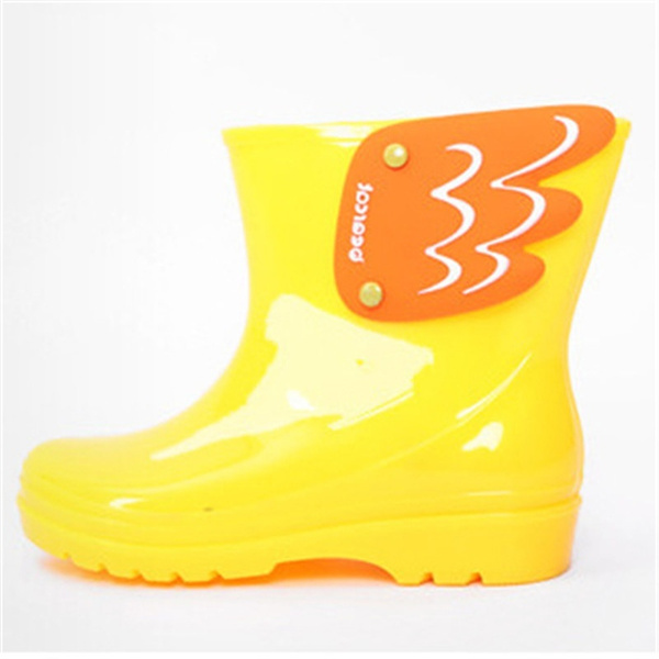 wish fashion children s rain boots wings rainboots boys girls