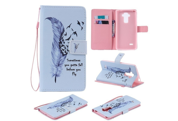 Top Quality Leather Wallet Feather Phone Cases Slot Leather Flip Stand Style Cover for IPhone 5S SE 6 6plus 6S Plus 7 Plus Iphone X 8 8plus Touch5 6 / Samsung Galaxy S3 Mini S4 Mini S5 Mini S6 S6edge Plus S7 S7edge S7plus S8 S8plus A310 A510 A710 J510 J710 Note4 Note5 A3 A5 G360 G530 J1 J3 J5 J7 P8