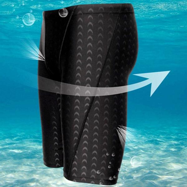 3dd7c21c9c New Fina Approved Men Sharkskin Racing Training Swimming Trunk ...