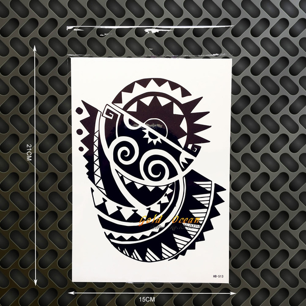 Rock Dwayne Johnson 3d Large Body Art Tattoo Sleeve Waterproof Black Tattoo Henna Ghb 513 Fake Temporary Tattoo Sticker On Chest