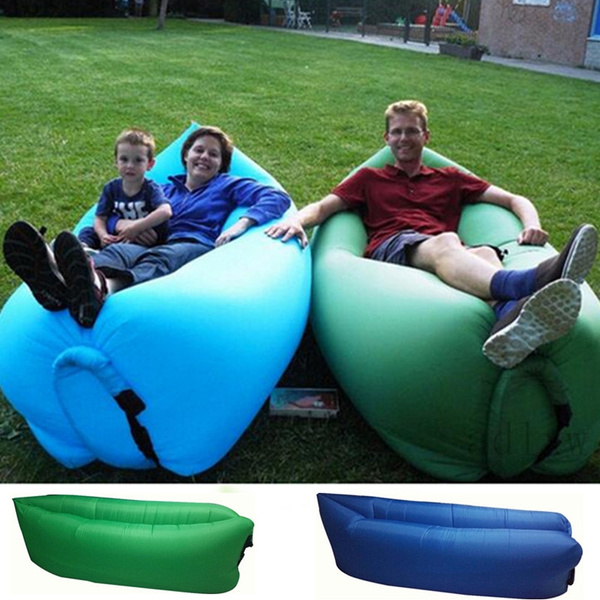 Surprising Fast Inflatable Sleeping Bag Hangout Lounger Air Bed Lazy Bag Outdoor Saco De Dormir Camping Laybag Air Sofa Beach Lazy Chair Gmtry Best Dining Table And Chair Ideas Images Gmtryco
