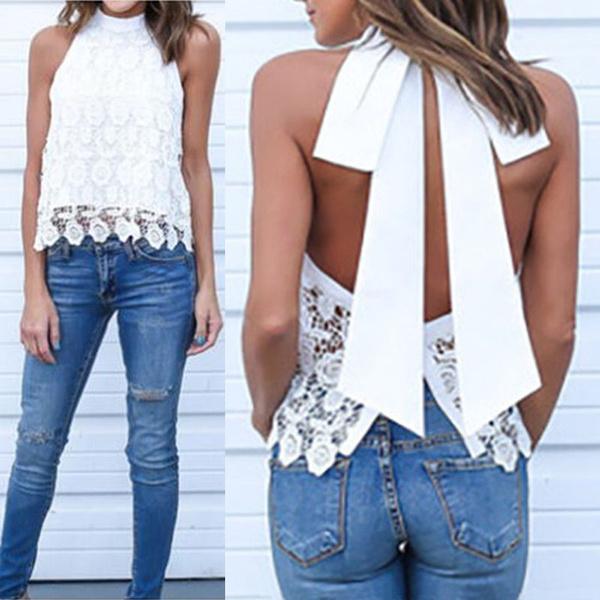 blouse summer casual, fashionwomensblouse, Vest, Fashion