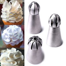 Baking Cake Flower Decorating Nozzles Pastry Tips Piping Russian