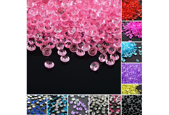 2000 pcs Confetti Wedding Decor New Crystals Party Supplies Shiny Celebration 4mm Diamond