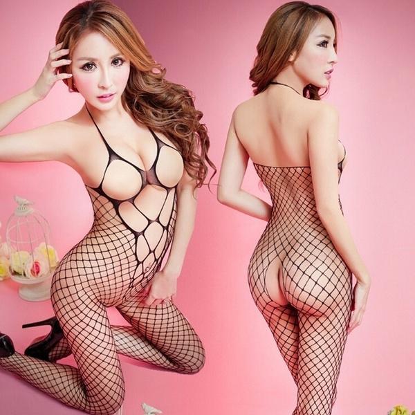 hotlingerie, Fish Net, fishnetlingerie, cleavagetop