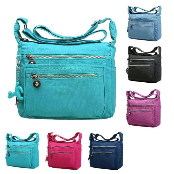 Picture of Womens Girls Waterproof Nylon Messenger Bags Shoulder Bags