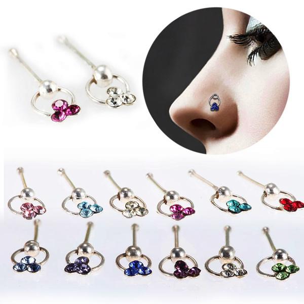 DIAMOND, Jewelry, Crystal, Stud Earring