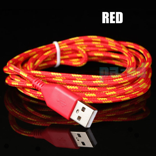 New 1M / 2M / 3M Braided Cable wire cabo Charger Data Sync Cable For iphone 5 5s 6 6s for ipad phone accessories