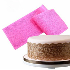 New Lace Silicone Mold Mould Sugar Craft Fondant Mat Cake Baking Tool Decoration
