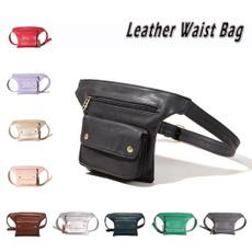 Outdoor, leatherbeltbag, Waist, Bags