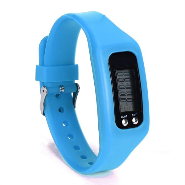 Digital LCD Pedometer Run Step Walking Distance Calorie Counter Watch Bracelet From Beauty Studio Hot