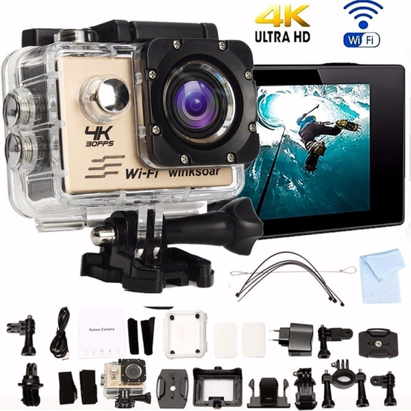 Picture of Waterproof Sj8000 Wifi Ultra 4k Hd 1080p 170 Degree Wide 2.0'' Lcd Sports Action Mini Dv Camera With Full Set