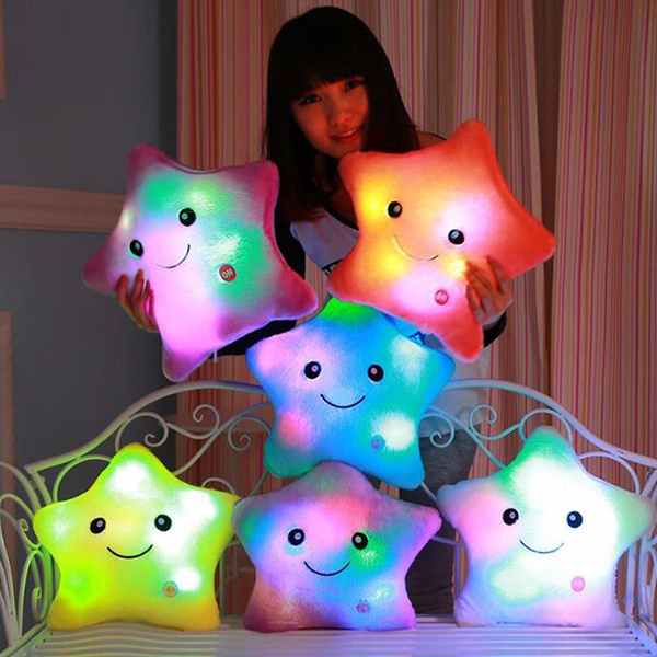 Plush Toys, luminouspillow, led, Colorful