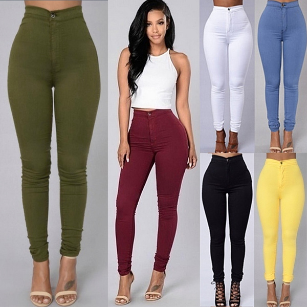 trousers, Women Leggings, Vintage, Denim