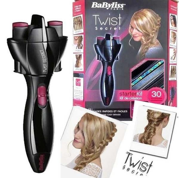Geek Diy Hair Twister Quick Twist Tie Artifact Braided Automatic Machine Tool