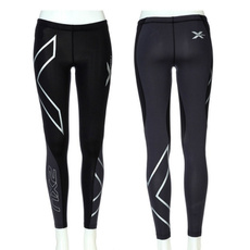 2016 Women's Fashion 2XU Professional Lycra Pants/ Trousers Compression Speed Dry Nylon Stretch Fitness Pants 4 Colors