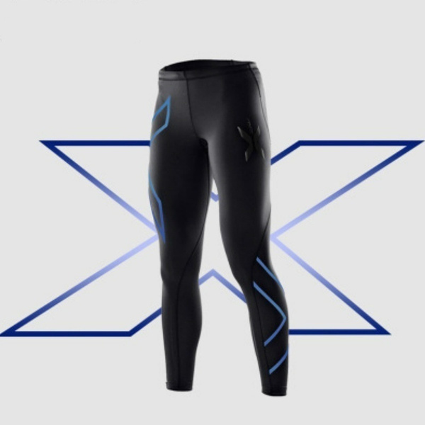 Women's Fashion 2XU Professional Lycra Pants/ Trousers Compression Speed Dry Nylon Stretch Fitness Pants 4 Colors