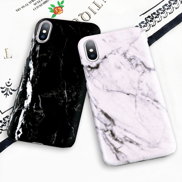 bdddce33c0bf28 Hot Selling Fashion Marble Phone Case Hard PC Case for iPhone X 8 7 ...