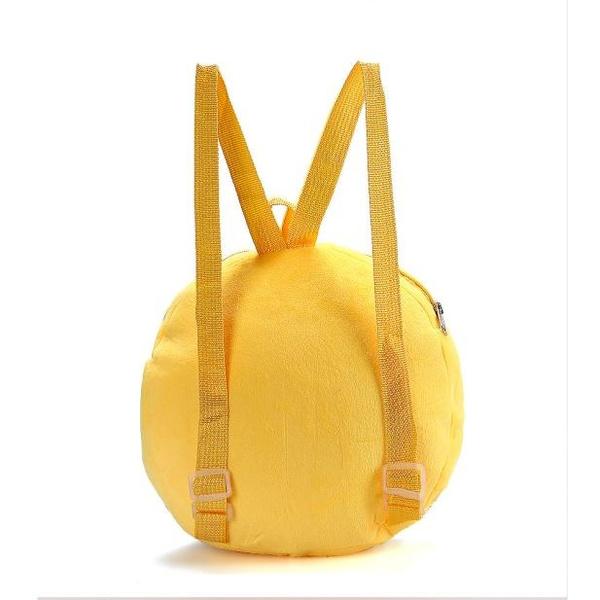New Cute Emoji Emoticon Shoulder School Child Bags Backpack Satchel Rucksack Handbag