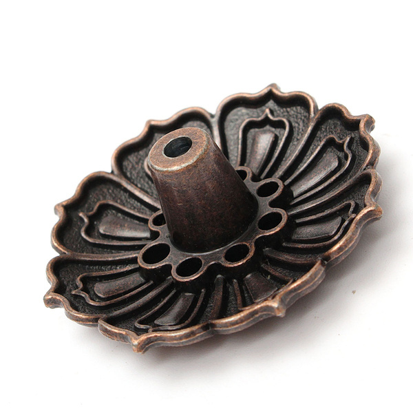 Wish | 9 Holes Lotus Flower Incense Burner Holder Plate For Stick & Cone Incense