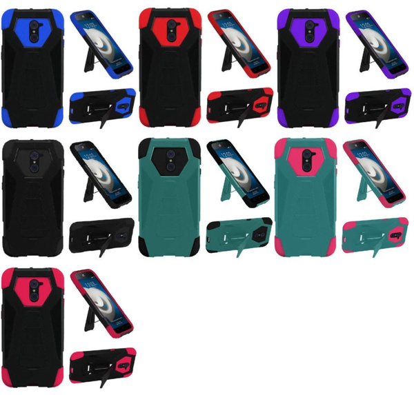 Hybrid Case Cover for ZTE Max Duo Z962BL Z963VL Grand X Max 2 Imperial Max  Z963U
