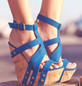 Picture of Summer Wedge Sandals Women Peep-toe Platform Shoes