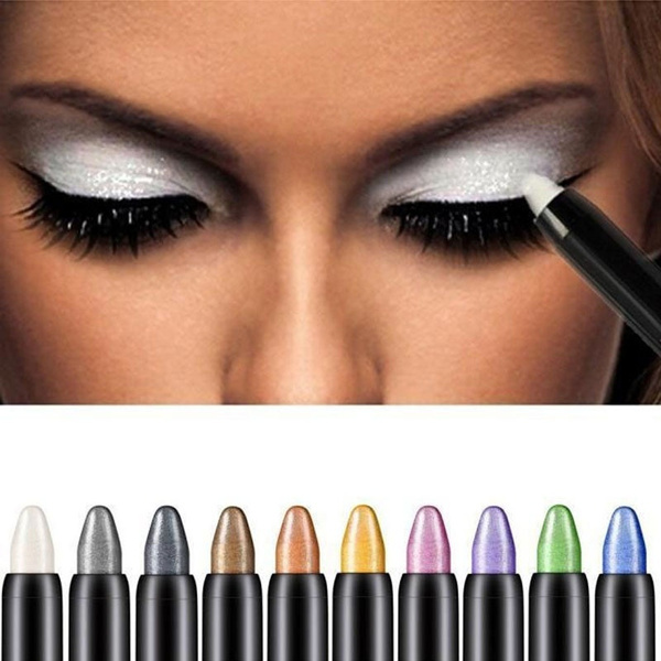 Picture of Pro Beauty Automatically Rotate High Light Eye Shadow Pen Lying Silkworm Pen