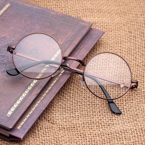 Picture of Round Metal Decorative Harajuku Prince Optical Glasses