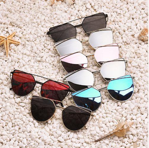 740bec5646 Polarized Sunglasses Women Fashion Summer Style Sun glasses for Women  Vintage Classic Brand Designer Twin-Beams Shades