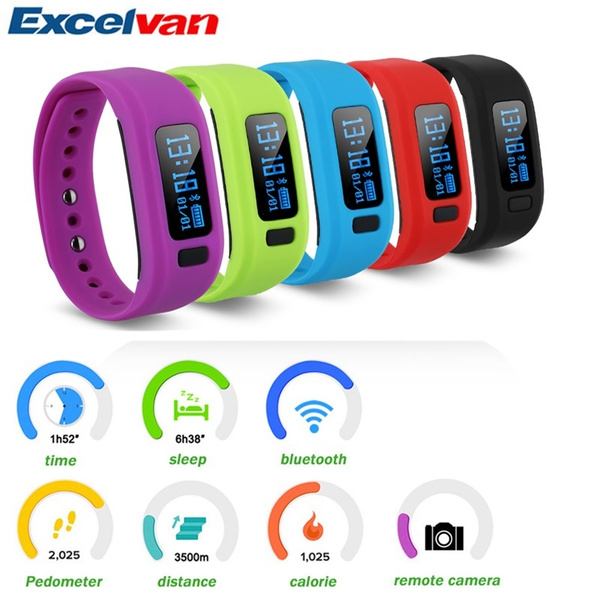 Picture of Excelvan Moving Up2 Smart Bracelet Health Monitor Bluetooth V4.0 Wristband For Android And Ios