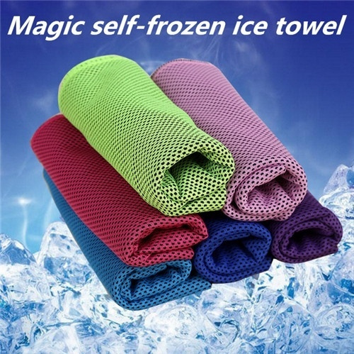 Outdoor Sports Quick-drying Towel Summer Creative Cold Towel Exercise Sweat Ice Towel