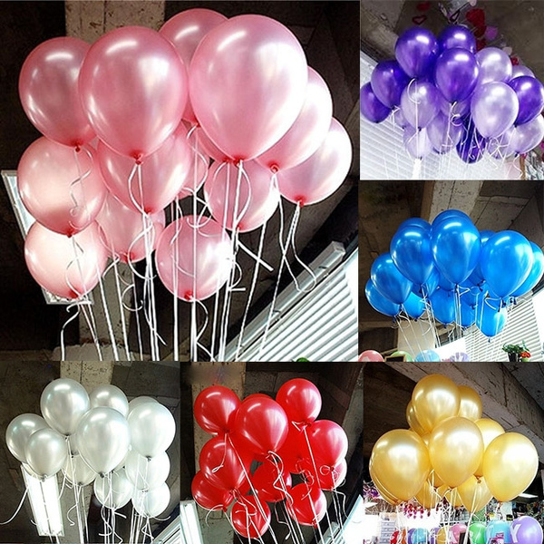 Picture of 30pcs 10inch Kids Latex Air Balloon Toys Party Decoration